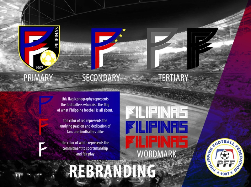 Philippine Football Federation - Rebranding Concept sports branding branding logo design