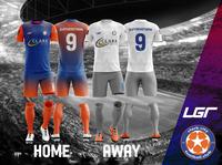 Clark City Football Club Kits