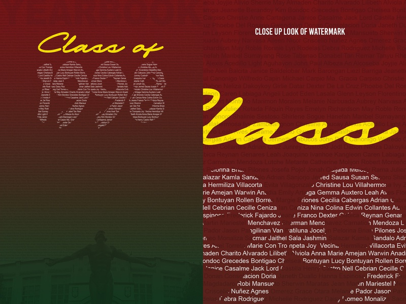High School Yearbook Cover year cover design high school reunion yearbook