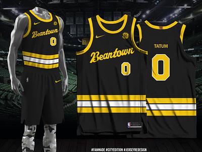 "Boston Celtics City-Edition 2020-21 ""Fan-Made"" nike city edition fan made jersey redesign nba boston celtics"