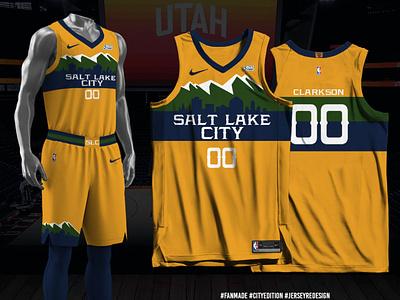 Salt Lake City Edition Concept sports branding jersey design