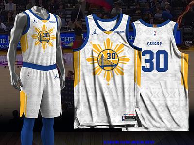 Golden State Warriors - Filipino Heritage basketball jersey jersey design