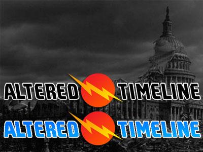 Altered Timeline proposed logo logo design branding blog logo blog design
