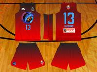Socsargen Marlins Basketball Jersey
