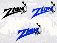 Zion Williamson Branding Concept Logo