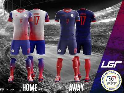 Philippines National Football Team 2020-21 Home/Away Kit