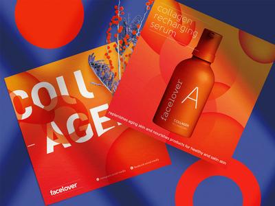 square brochure design