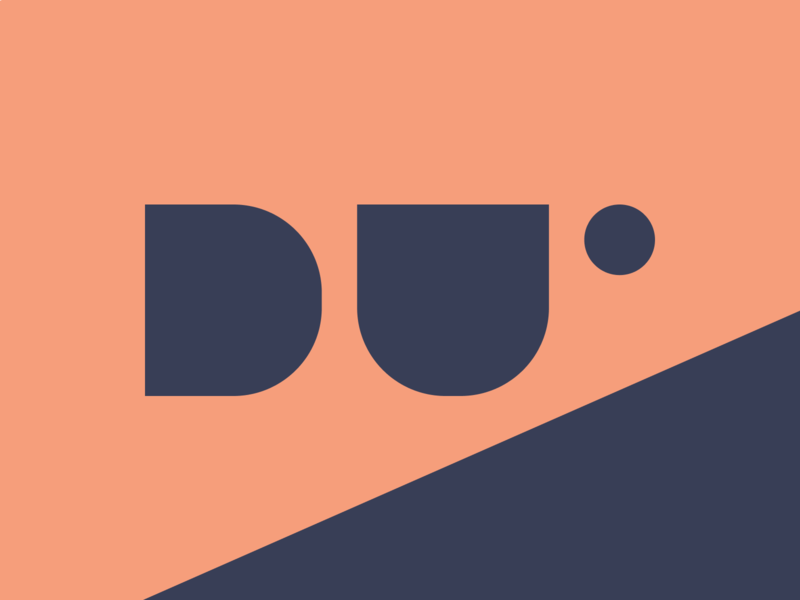 Daily UI #052 letter logo design orange blue logo design daily ui logo daily ui 052 daily ui challenge