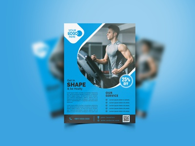 Fitness sales flyer