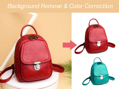 Background remove & color correction