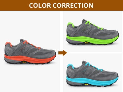 Shoe Color Correction