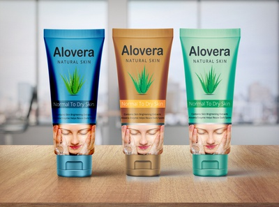 Face Wash Product package Design