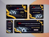 Car sale web banner