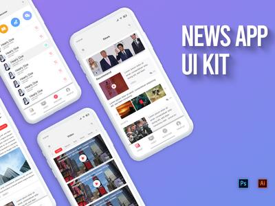 News app ui kit