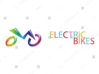 Electric Bike Representation & Logo Vector Art