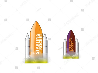Rocket Carrier Texture & Logo Vector Art spacex spacecraft falcon orange shuttle atmosphere power rock earth booster fly fuel