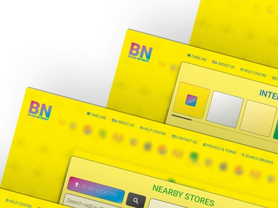 BN (desktop) - UX/UI Project, May 18' ux ui prorotype mockup invision illustrator icon feedback design brand black android
