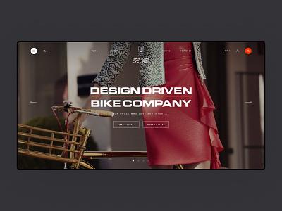Martone Cycling - Home Page animation mobile minimal concept black luxury fashion shopify shop store ecommerce bike website web ux ui