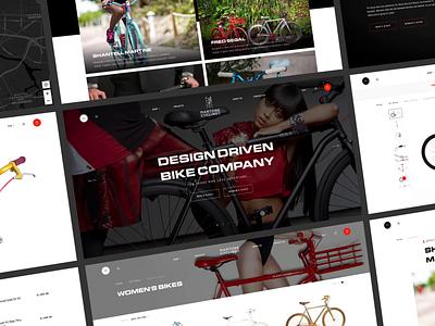 Martone Cycling - Design-Driven Bike Company cart home catalog product animation ecommerce shop store bike luxury fashion minimal interface black website web concept ux ui