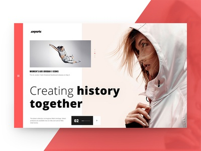 Extrime Store sport concept style ecommerce shop store woman interface ui ux web website