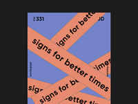 Day 331 - Signs for better times