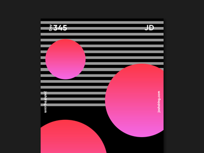 Day 345 - Lava contemporary minimal design colour graphic daily designer illustration ux logo mobile website type poster poster collection 365 days poster poster challenge