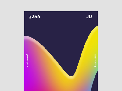 Day 356 - Edges contemporary minimal design colour graphic daily designer illustration ux logo mobile website type poster poster collection 365 days poster poster challenge poster design