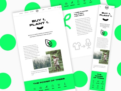 Landing page for new charity initiative design graphic design web design ui design ui landing page