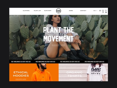 Shopify Website Redesign for ecommerce fashion brand apparel fashion ecommerce homepage website branding website designer website design ecommerce design design shopify