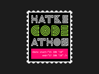 hackathon sticker