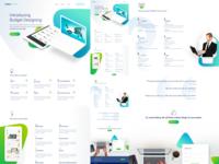 Budget Designs UI Mockup Design