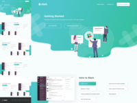 Slack Re-design Concept UI