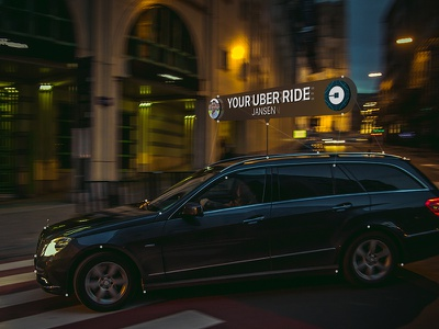 Mixed Reality - Uber Car Finder concept glasses smart app uber mixed reality