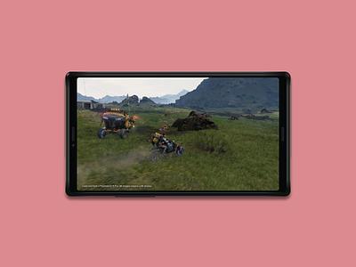 [Concept] Sony PlayStation Xperia adobe illustration android playstation phone gaming xperia sony