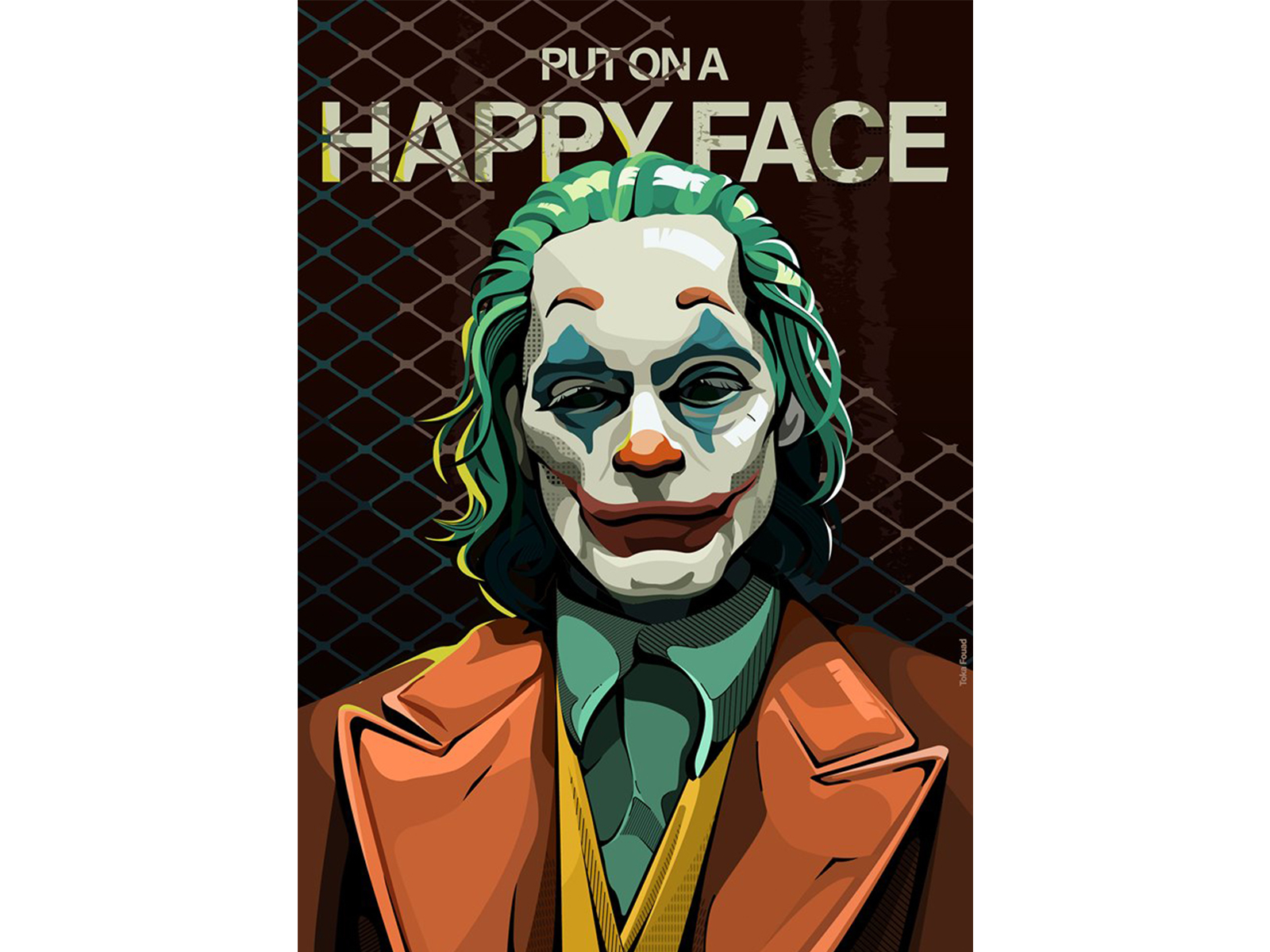 Joker By Toka A Fouad On Dribbble