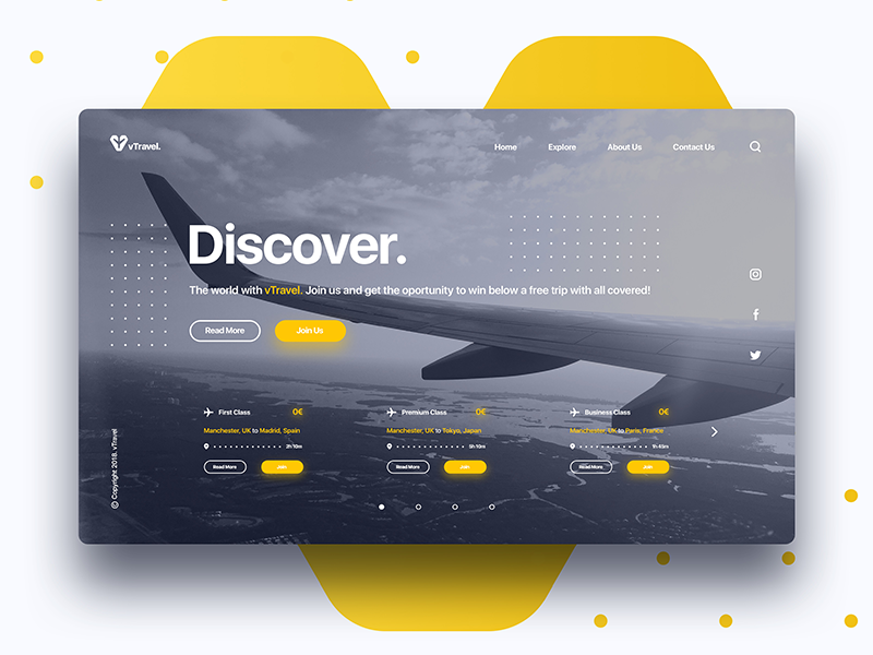Landing Page Travel travel landing page graphic design uiux user interface app ui psd free landing