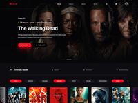 Redesign Concept Netflix Website
