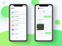 Chat App UI/UX