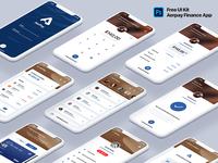 Aerpay Finance App UI Kit