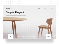 Freebie Landing Page Furniture