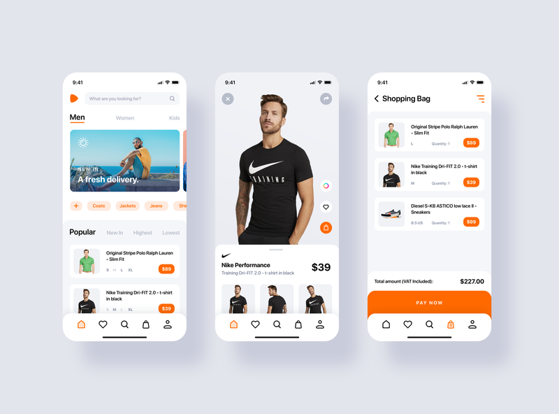 Freebie Zalando Redesign Concept - PSD & XD xddailychallenge xd design xd clothing cloth uxdesign uidesign freebie ecommerce app ecommerce clothing app zalando app free download uiux user interface ui graphic design psd