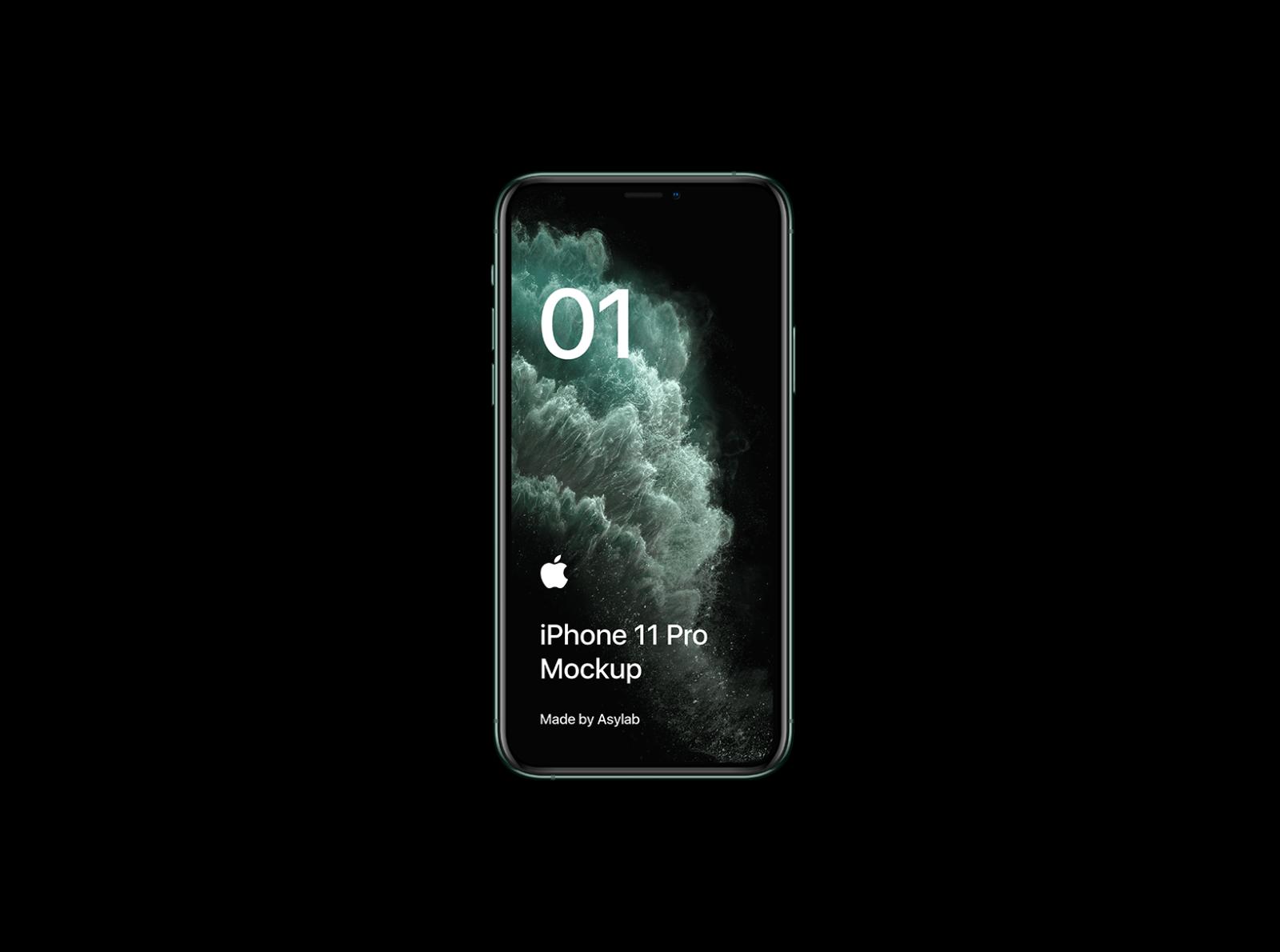 Freebie Iphone 11 Pro Mockup Psd By Asylab On Dribbble