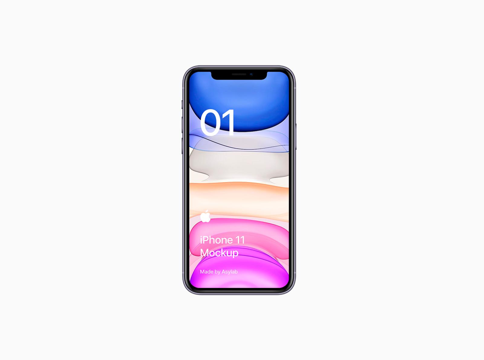 Freebie Iphone 11 Mockup Psd By Asylab On Dribbble