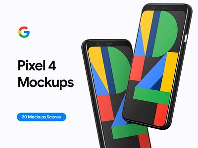 Google Pixel 4 - 20 Mockups Scenes - PSD android pixel 4 mockup app custom download 4 4xl pixel psd user interface mockup psd mockups clay pixel 4 mockups pixel 4 google pixel 4 google ui mockup