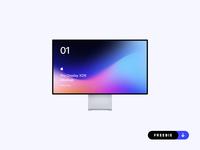Freebie - Apple Pro Display XDR Mockup