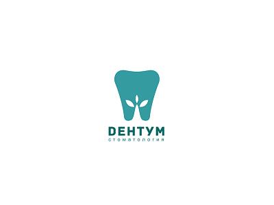 Dentum logo icon vector typography identity design identity branding logotype logo design logo brand graphic design design