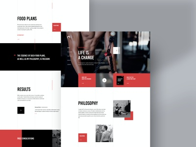 The Awesome: Landing Page #2 development landingpage webdesign