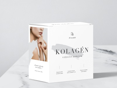 Collagen: Concept #2 collagen health product design packaging branding