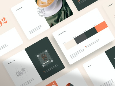 Industry: Brand Book #2 coffee logo packaging brandbook branding