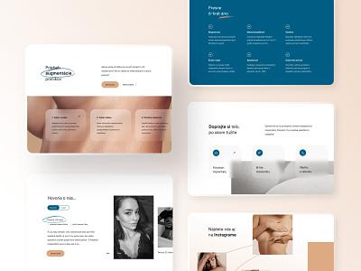 POLYTECH®: Website #2 medical care augmentation plastic surgery clinic website agency web design art direction ux ui